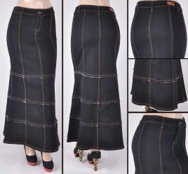 Faldas Largas Mayoreo SG-87118 Black Wholesale Long Skirts Nantlis