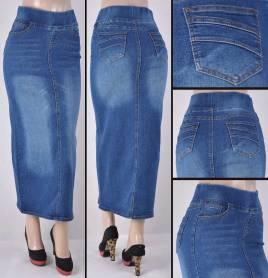 Faldas Largas Mayoreo SG-87241 Indigo Wholesale Long Skirts Nantlis