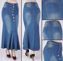 Faldas Largas Mayoreo SG-87243 Vintage Wholesale Long Skirts