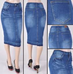 Faldas Mayoreo SG-76415A Indigo Wholesale Skirts Nantlis