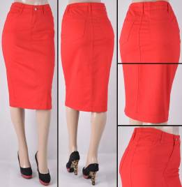 Faldas Mayoreo SG-76418B-17 Red Wholesale Skirts Nantlis