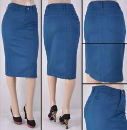 Faldas Mayoreo SG-76418B-95 Teal Wholesale Skirts Nantlis
