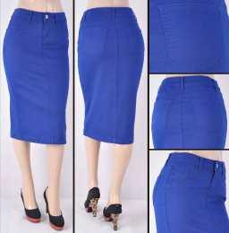Faldas Mayoreo SG-76418C-105 Royal blue Wholesale Skirts