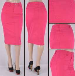 Faldas Mayoreo SG-76418C-64 Fuchsia Wholesale Skirts