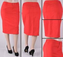 Faldas Mayoreo SG-76418X(B)-17 Red Wholesale Plus Size Skirts Nantlis
