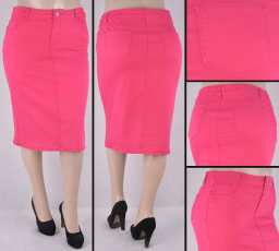 Faldas Mayoreo SG-76418XC Fuchsia Wholesale Plus Size Skirts