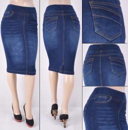 Faldas Mayoreo SG-77104A Dark Indigo Wholesale Skirts