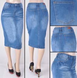 Faldas Mayoreo SG-77239 Indigo Wholesale Skirts Nantlis