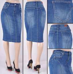 Faldas Mayoreo SG-77263 Indigo Wholesale Skirts