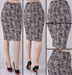 Faldas Mayoreo SG-77264-118-Leopard#C Wholesale Skirts Nantlis
