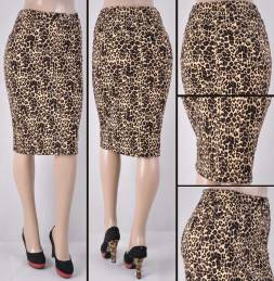 Faldas Mayoreo SG-77264-119-Leopard#A Wholesale Skirts Nantlis