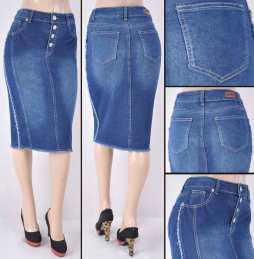 Faldas Mayoreo SG-77302 Indigo Wholesale Skirts