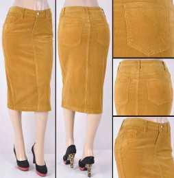 Faldas Mayoreo SG-77337-26 Camel Wholesale Skirts