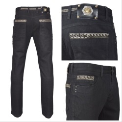 Nantlis FDJ5857 Mens jeans pantalon para hombre