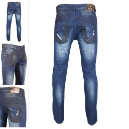 Nantlis MFJ5996 Mens jeans pantalon para hombre
