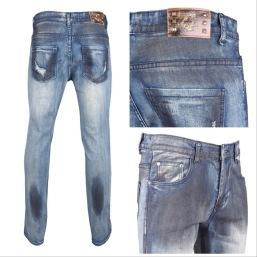Nantlis MFJ5997 Mens jeans pantalon para hombre