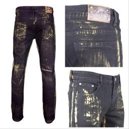 Nantlis MFJ6000 Mens jeans pantalon para hombre