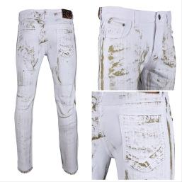 Nantlis MFJ6001 Mens jeans pantalon para hombre