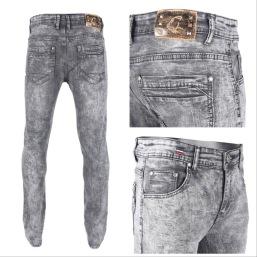 Nantlis PDJ5615 Mens jeans pantalon para hombre