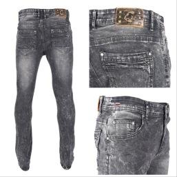Nantlis PDJ5618 Mens jeans pantalon para hombre