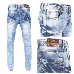 Nantlis PDJ5619 Mens jeans pantalon para hombre