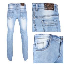 Nantlis PDJ6218 Mens jeans pantalon para hombre