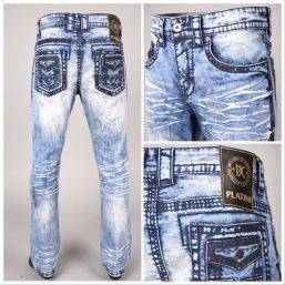 Nantlis PHD5547 Mens jeans pantalon para hombre