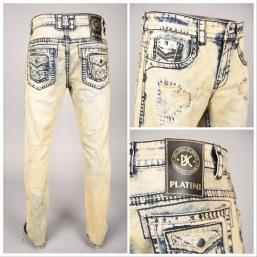 Nantlis PHD5549 Mens jeans pantalon para hombre