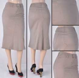 Faldas Mayoreo SG-77409 Tan Wholesale Skirts Nantlis