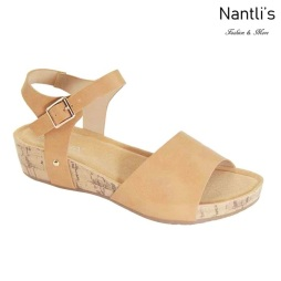 AN-Adina-1 Tan Zapatos de Mujer Mayoreo Wholesale Women Shoes Nantlis