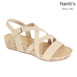 AN-Adina-5 Natural Zapatos de Mujer Mayoreo Wholesale Women Shoes Nantlis
