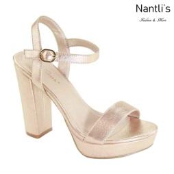 AN-Alexis-5 Rose Gold Zapatos de Mujer Mayoreo Wholesale Women Shoes Nantlis