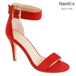 AN-Amie Red Zapatos de Mujer Mayoreo Wholesale Women Shoes Nantlis