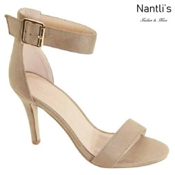 AN-Amie Taupe Zapatos de Mujer Mayoreo Wholesale Women Shoes Nantlis