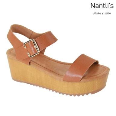 AN-Basima Tan Zapatos de Mujer Mayoreo Wholesale Women Shoes Nantlis