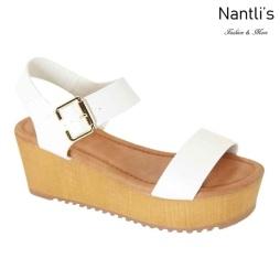 AN-Basima White Zapatos de Mujer Mayoreo Wholesale Women Shoes Nantlis