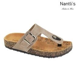 AN-Belize-100 Taupe Zapatos de Mujer Mayoreo Wholesale Women Shoes Nantlis