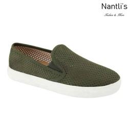AN-Bello Olive Zapatos de Mujer Mayoreo Wholesale Women Shoes Nantlis