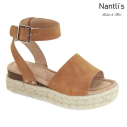AN-Bessy-1 Camel Zapatos de Mujer Mayoreo Wholesale Women Shoes Nantlis