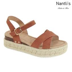 AN-Bessy-5 Tan Zapatos de Mujer Mayoreo Wholesale Women Shoes Nantlis