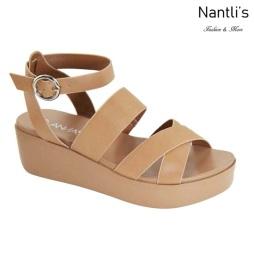 AN-Birtha-1 Camel Zapatos de Mujer Mayoreo Wholesale Women Shoes Nantlis