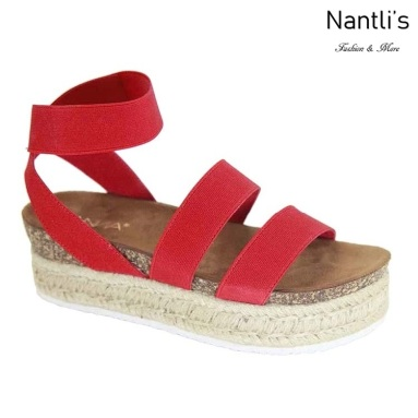 AN-Bolton Red Zapatos de Mujer Mayoreo Wholesale Women Shoes Nantlis