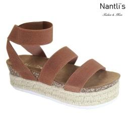 AN-Bolton Tan Zapatos de Mujer Mayoreo Wholesale Women Shoes Nantlis