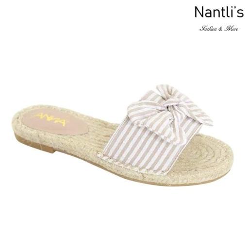 AN-Bowie Khaki Zapatos de Mujer Mayoreo Wholesale Women Shoes Nantlis