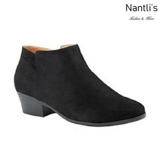 AN-Bradee-07 Black Botas de mujer Mayoreo Wholesale womens Boots Nantlis