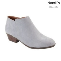 AN-Bradee-07 Grey Botas de mujer Mayoreo Wholesale womens Boots Nantlis