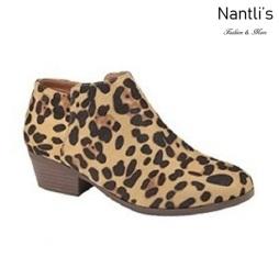 AN-Bradee-07 Leopard Botas de mujer Mayoreo Wholesale womens Boots Nantlis
