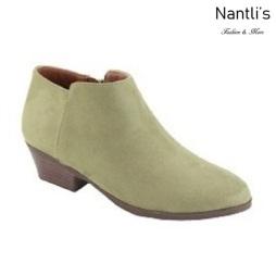 AN-Bradee-07 Light Olive Botas de mujer Mayoreo Wholesale womens Boots Nantlis