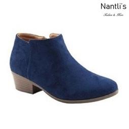 AN-Bradee-07 Navy Botas de mujer Mayoreo Wholesale womens Boots Nantlis