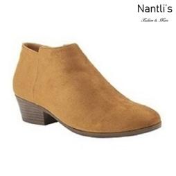 AN-Bradee-07 Tan Botas de mujer Mayoreo Wholesale womens Boots Nantlis